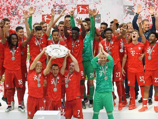 Special Farewell For Arjen Robben, Franck Ribery As Bayern Munich Win Bundesliga