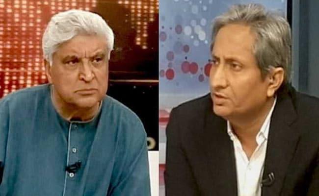 राष्ट्र में रहकर, राष्ट्र में रहने वाले लोगों से प्यार करना ही सच्चा राष्ट्रवाद है : जावेद अख्तर ने NDTV से कहा