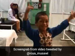 Viral Video Shows Boy Dancing In Delight After Getting Prosthetic Leg