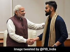 """India Going To Reach Greater Heights"": Virat Kohli Congratulates PM Narendra Modi"