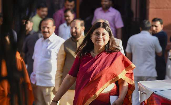 Maneka Gandhi To Be Temporary Speaker, Not Minister In PM Modi's Government