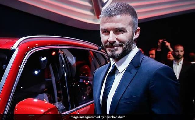 David Beckham banned from driving for using cell phone