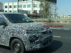 2019 Renault Kwid Facelift Spotted Testing Again