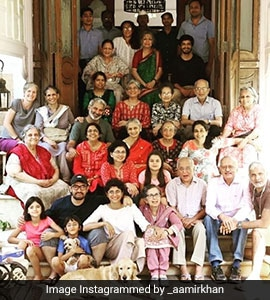 Aamir Posts Family Photo Of The Raos On His Mother-In-Law's 75th Birthday