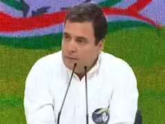 "General Elections 2019: ""Narendra Modi Destroyed Jobs, Agriculture"", Says Rahul Gandhi"
