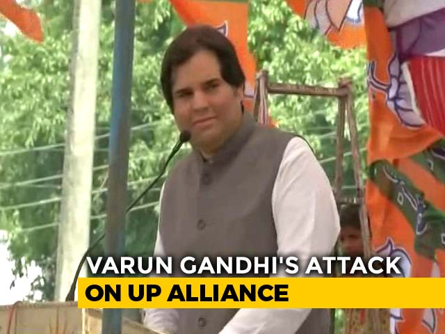 "Video : ""They Are Pakistanis"": Varun Gandhi's Attack On UP Alliance"