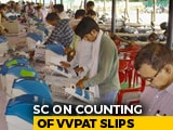 "Video : ""Nonsense"": Top Court Rejects Request On Counting Of 100% VVPATs"