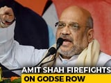 Video : 3 BJP Leaders To Explain Godse Remarks Within 10 Days, Says Amit Shah