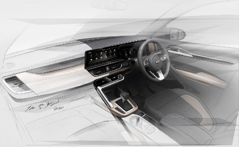 Kia India reveals SP2i interior sketches ahead of June 20 debut