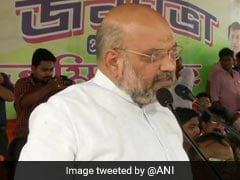 अमित शाह की ममता बनर्जी को चेतावनी: मैं जय श्री राम बोलता हूं, हिम्मत है तो मुझे गिरफ्तार कीजिए