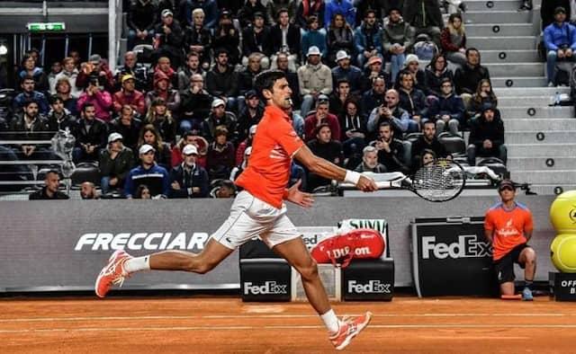 Novak Djokovic Survives Scare, Rafael Nadal Coasts Into Rome Semi-Finals