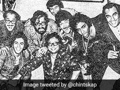 Rishi Kapoor's Throwback Pic Comes With An Interesting Back Story