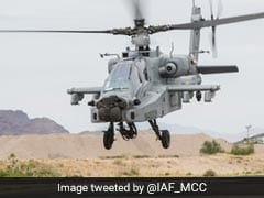 Air Force Gets Its First Apache Attack Helicopter At Boeing Plant In US