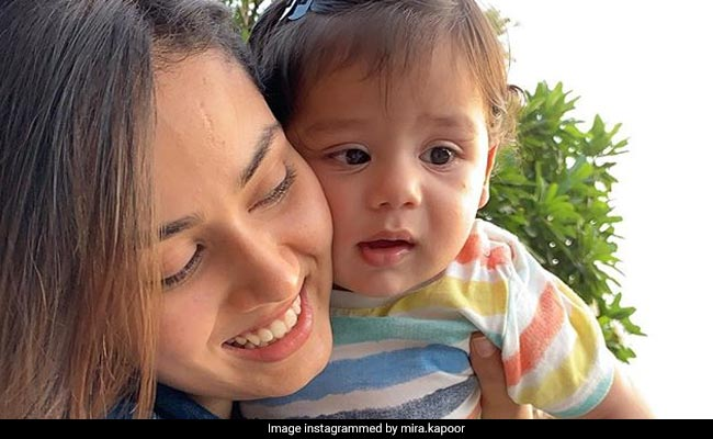 What Baby Zain Kapoor Is Telling Mom Mira Rajput In This Adorable Pic
