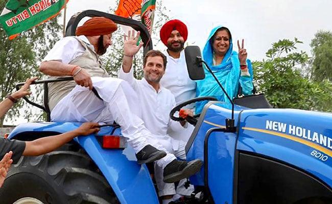 लोकसभा चुनाव 2019: लुधियाना में सामने आया राहुल गांधी का नया अवतार, सीएम अमरिंदर को बगल में बैठाकर चलाया ट्रैक्टर, देखें वीडियो
