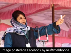 "Mehbooba Mufti Tweets On ""Right To Cheer"" Any Team Amid India-Pak Clash"