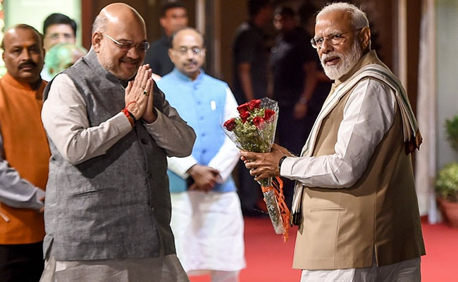 'Experienced, Efficient Organiser': PM Tweets Birthday Wish For Amit Shah