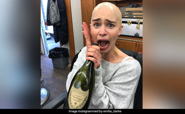 'GOT 8': Mad Daenerys Made Emilia Clarke Gain A Bottle And Lose Her Hair