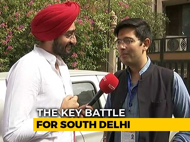 "Video : ""Tough Fight Between BJP, Congress For 2nd Spot"": Raghav Chadha To NDTV"