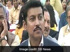 Rajyavardhan Rathore, Left Out Of Cabinet, Says Thank You In Tweets