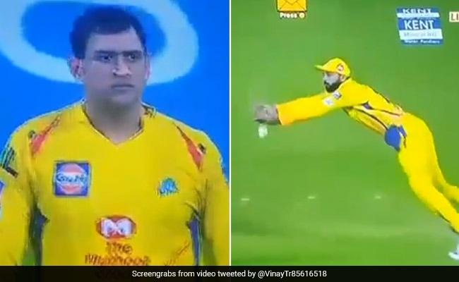 IPL 2019: मुरली विजय ने छोड़ा कैच तो गुस्सा गए एमएस धोनी, किया ऐसा, फैन्स हैरान... देखें VIDEO