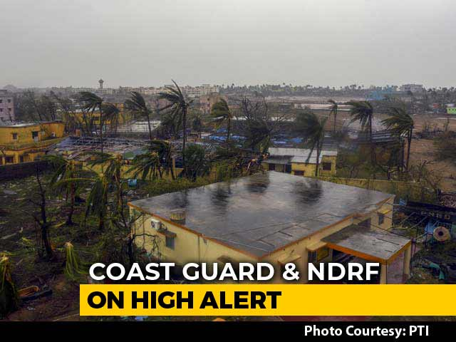 Video : 8 Dead As Cyclone Fani Hits Odisha, Now Moving Towards Bengal