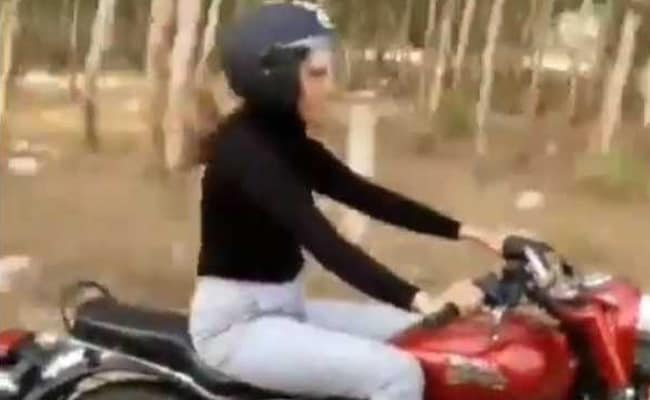 Image result for sapna chaudhary on bullet