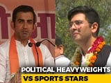 Video: Delhi's Three-Cornered Fight Has Sportspersons, Political Heavyweights