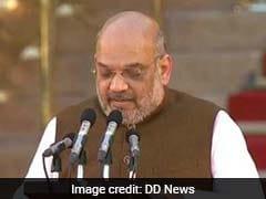 BJP अध्यक्ष अमित शाह ने ली शपथ, मोदी कैबिनेट में निभाएंगे महत्वपूर्ण भूमिका