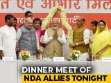 Video : PM Meets Council Of Ministers Ahead Of NDA Dinner Hosted By Amit Shah