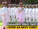 Video : Karambir Singh Is The New Navy Chief