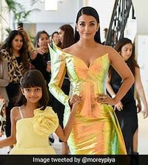 Cannes 2019: Aishwarya Rai Bachchan's Blaze Of Glory, Matched By Aaradhya