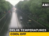 Video : Rains Bring Relief From Scorching Heat In Delhi-NCR