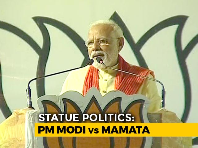 Video : PM Modi Promises Grand Vidyasagar Statue Amid Battle With Trinamool