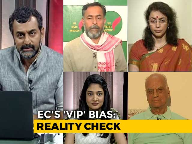 Video : Is The Election Commission Bending Rules?