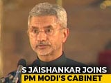 Video : S Jaishankar, Ex-Foreign Secretary, Joins PM Modi's Cabinet