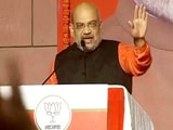 "Video : Amit Shah Addresses BJP Workers, Thanks The People For ""Historic Mandate"""