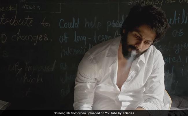 Kabir Singh: Shahid Kapoor Explains Smoking And Drinking Scenes In Film