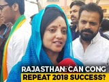 "Video : Lok Sabha Polls: ""Hope In The Eyes"" Of Voters, Says Rajyavardhan Rathore's Wife"