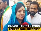 """Video : Lok Sabha Polls: """"Hope In The Eyes"""" Of Voters, Says Rajyavardhan Rathore's Wife"""
