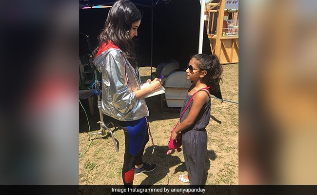 When Ananya Panday Signed Her Very First Autograph For A Young Fan
