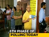 Video : Rahul And Sonia Gandhi, Rajnath Singh In Line-Up For Phase 5 Today