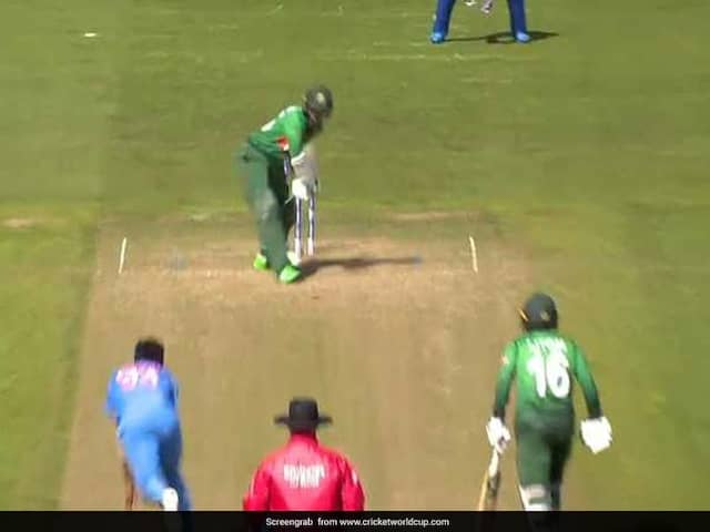 Jasprit Bumrah rattles Shakib Al Hasans stumps with this perfect yorker in warm-up game