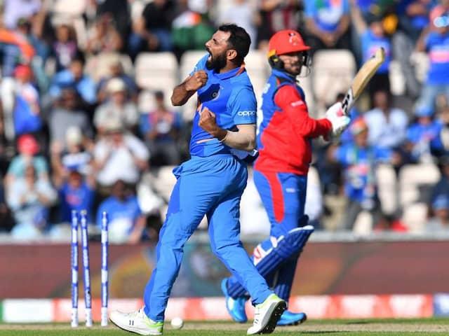 Mohammed Shami Becomes Second Indian To Claim World Cup Hat-Trick