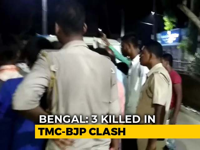 Video : 3 Killed In Trinamool-BJP Clashes, West Bengal BJP Writes To Amit Shah