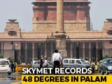 Video : Delhi At 48 Degrees, Highest Ever In June As Heat Wave Sweeps North India