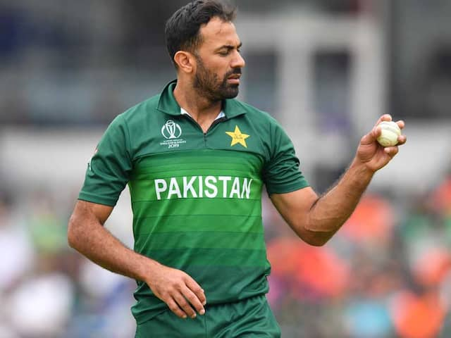 Wahab Riaz Says Available To Play Tests Against England If Required