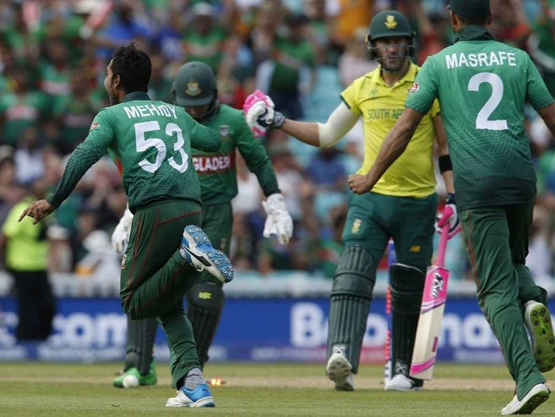 Cricket Score, Cricket World Cup 2019: Highlights: Bangladesh Beat South Africa By 21 Runs