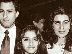 Saif Ali Khan, Amrita Singh And Little Soha, Once Upon A Time In Bollywood