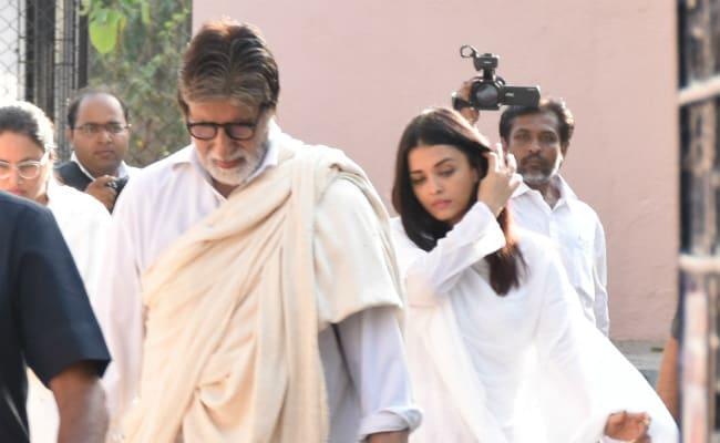 सेक्रेटरी शीतल जैन के अंतिम संस्कार में पहुंचे अमिताभ बच्चन, अभिषेक और ऐश्वर्या राय भी आए नजर...देखें Photos